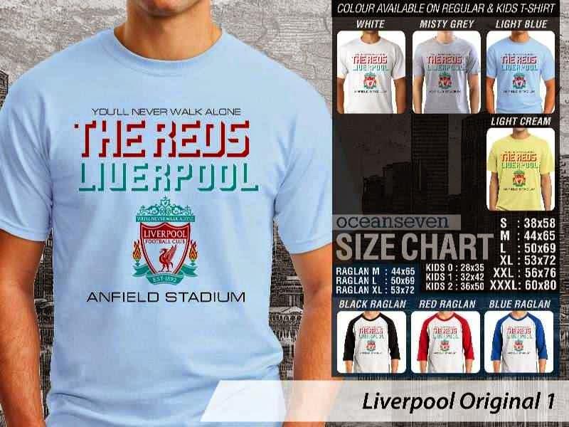 KAOS Liverpool 29 Logo Klub Bola distro ocean seven