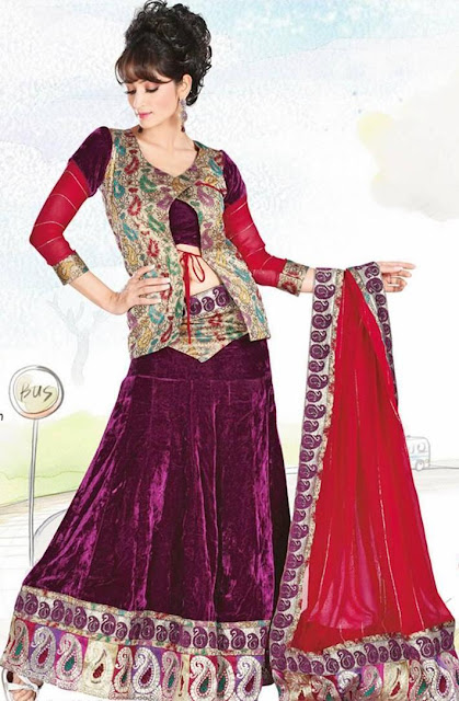Lehenga Choli Seen On www.coolpicturegallery.us