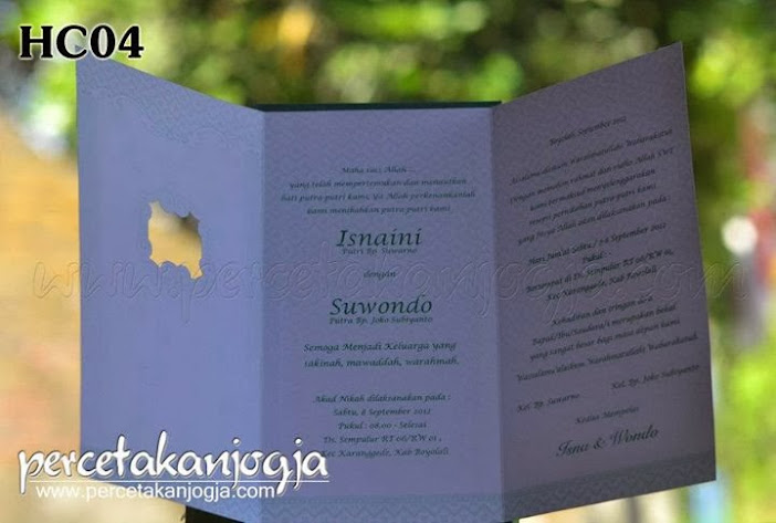 undangan hardcover