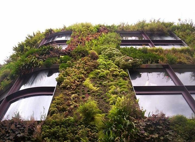 Vertical Garden - Creative Building Seen On www.coolpicturegallery.us