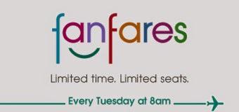 國泰假期新一期【Fanfares】9月16日早上8時開買!