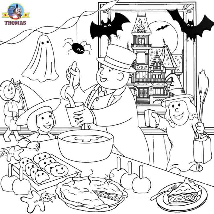 Halloween Coloring Pages - halloween coloring pages for kids printable free