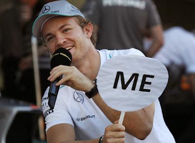 Нико Росберг и Льюис Хэмилтон дают интервью BBC на Гран-при Японии 2013
