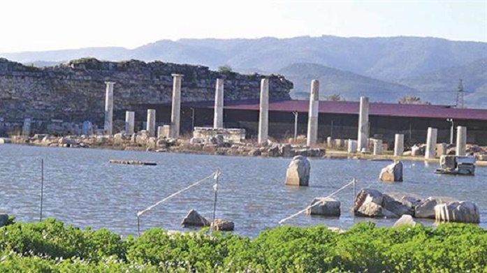 Ancient Magnesia in western Turkey submerged once again