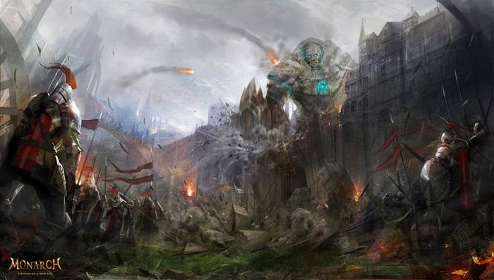Hình nguyên họa tuyệt đẹp của Monarch Online - Ảnh 5