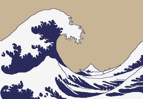 """""""The Great Wave off Kanagawa"""""""