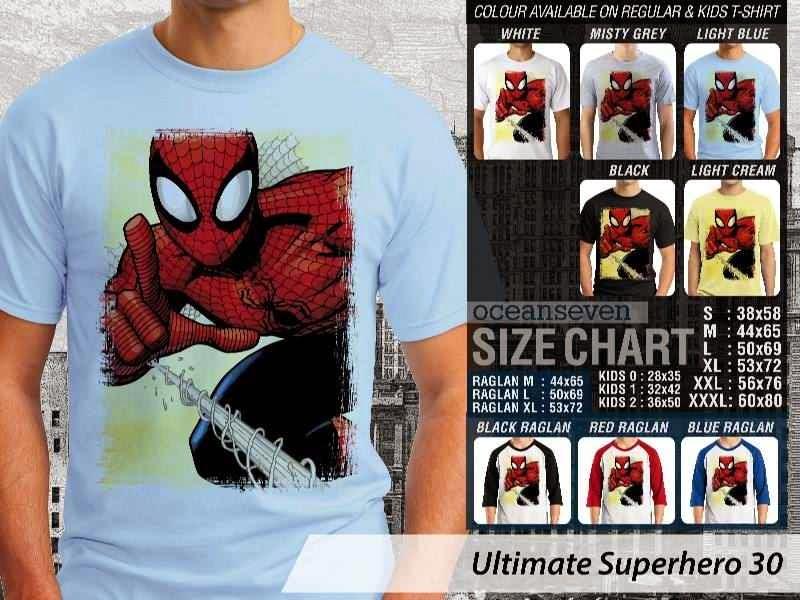 KAOS spiderman 30 Ultimate Superhero distro ocean seven