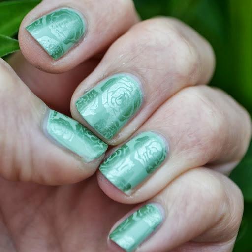 Uk Nail Art Blog Nail Art With Bite: UK Nail Art Blog: InFamous Inspired Nail Art