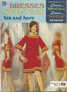Crocheted Dress Pattern in Small Medium Large
