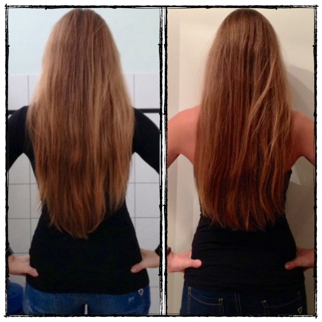 Haarschnitt hinten spitz
