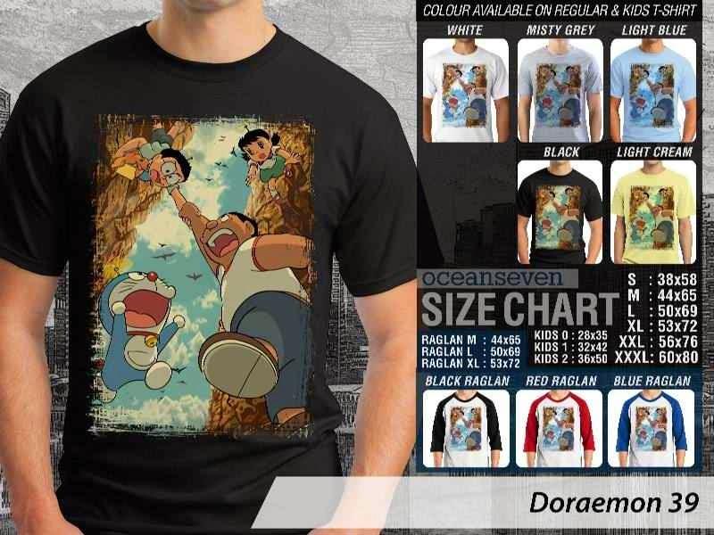 KAOS Doraemon 39 Manga Lucu distro ocean seven