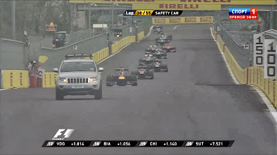 джип сэйфти-кар на Гран-при Кореи 2013