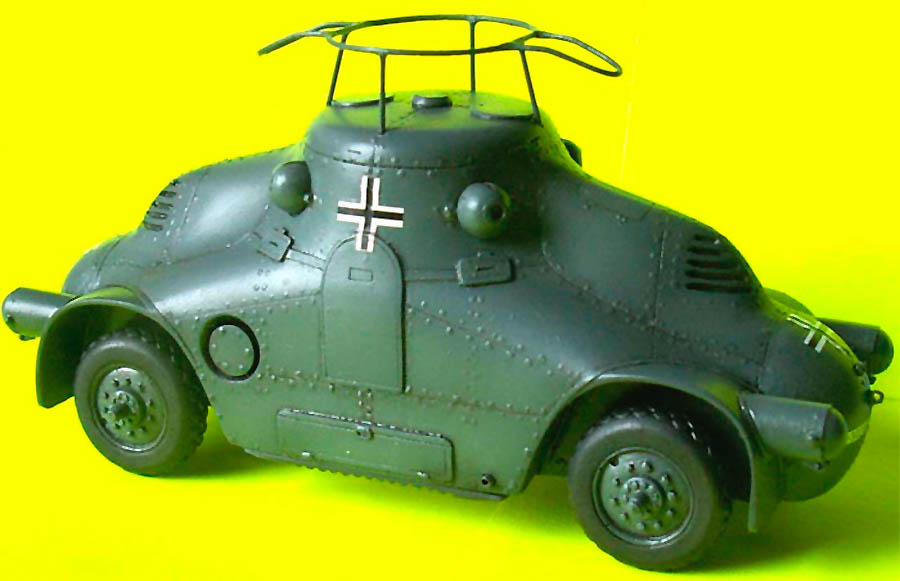 Dark Roasted Blend Impressive Vintage Armoured Cars