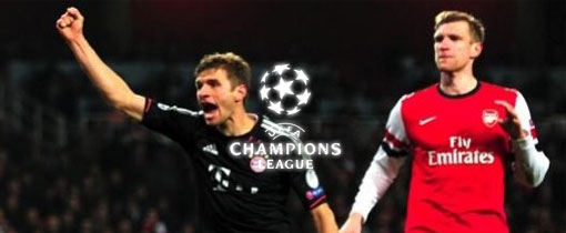 Bayern Munich vs. Arsenal en Vivo - Champions League