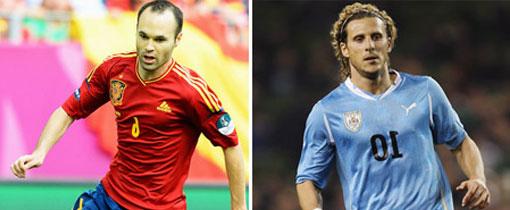 España vs. Uruguay en Vivo - Amistoso 2013