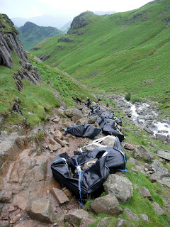 Footpath repair next to Stickle Ghyll
