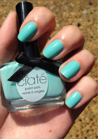 Ciaté Peppermint Nail Polish Review