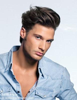 Corte de cabello para hombre plancha