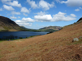 Crummock Water from Cinderdale