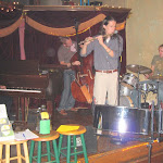 We went to a Jazz jam after the show and Rich & Aden brought down the house!