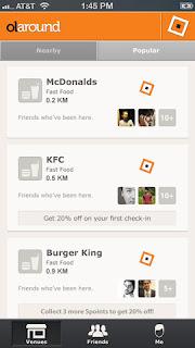 olaround smartphone screen capture