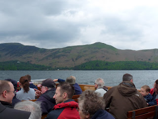 Catbells from the boat.