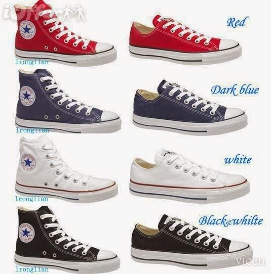 TasampSepatu Macam Macam Model Sepatu Converse