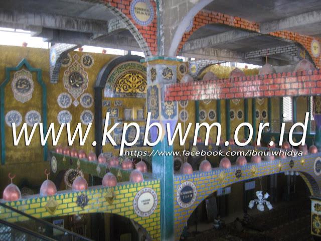 desain interior masjid lapeo campalagian