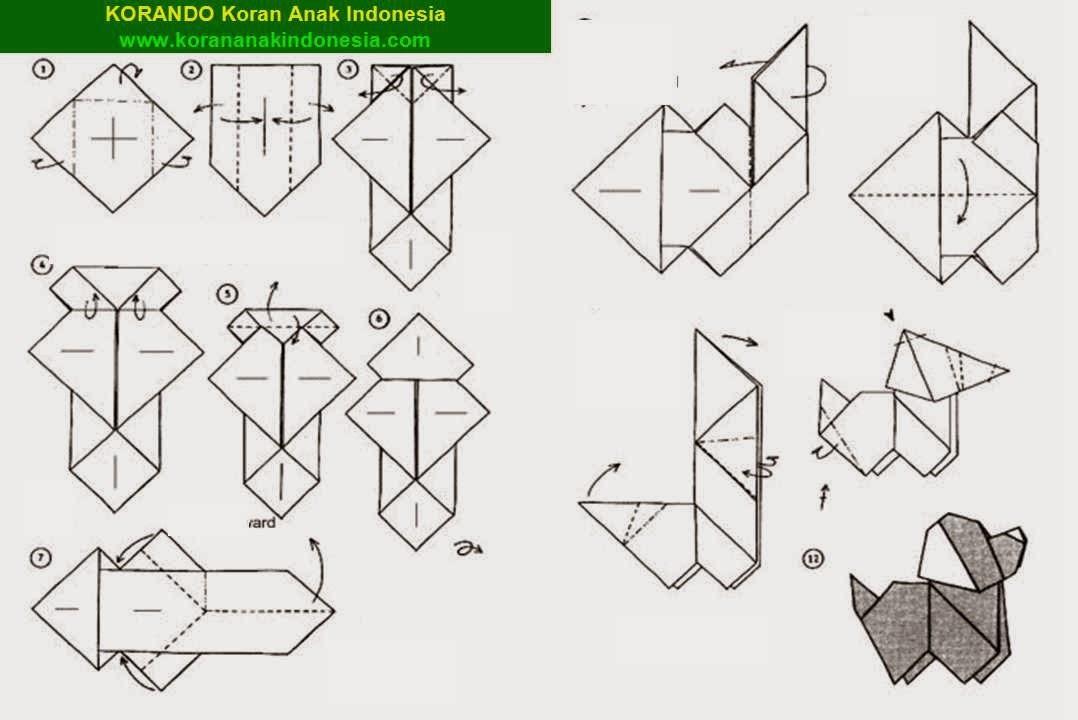 Оригами из бумаги со схема