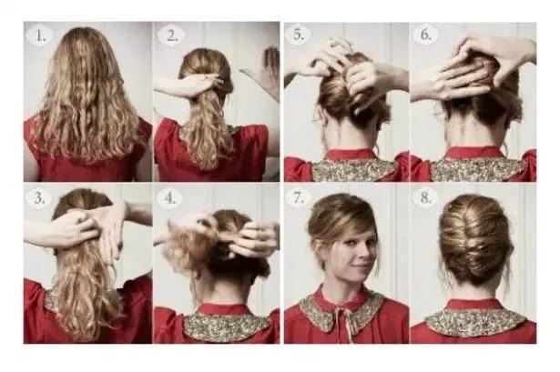 Peinados Rapidos Y Faciles Paso A Paso Great Peinados Faciles Y
