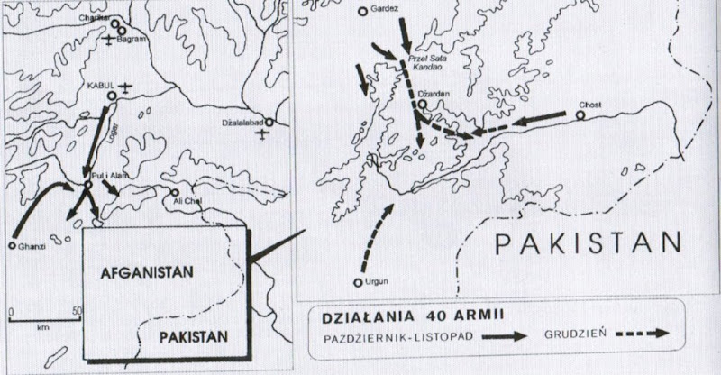 Afganistan opaska uciskowa ZSRR