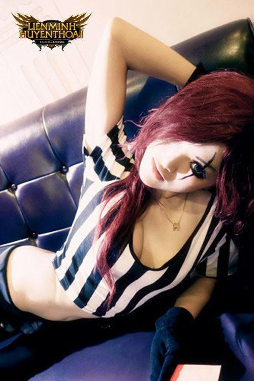 Chiêm ngưỡng cosplay Katarina cực nóng bỏng