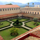 The Terrace From The Rooftop Walkway at The Duomo - Monreale, Italy