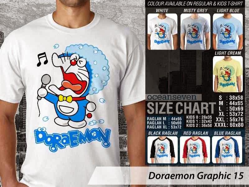 KAOS Doraemon 55 Manga Lucu distro ocean seven