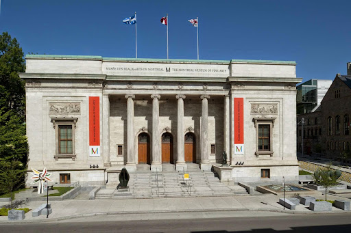 The Montreal Museum of Fine Arts, 1380 Sherbrooke St W, Montreal, QC H3G 1J5, Canada, Art Museum, state Quebec