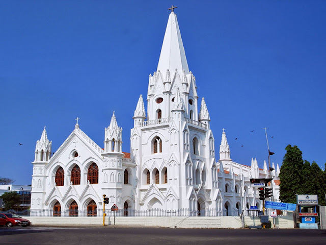 San Thome Church-Top 10 Places To Visit In Chennai