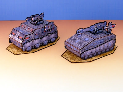 Armor Grid: Motor Pool-Heavy Vehicles
