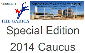 Claiming ownership of the Adams County Government Center while illegally using a copyrighted photo? That is what the Adams County Democrats have done. (Screenshot)