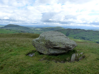 A big boulder on Common Fell.