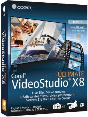 Review Corel VideoStudio X8 Ultimate