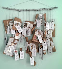 DIY scrap wrapping advent calendar