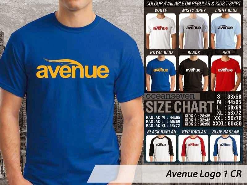 Kaos Magz Avenue Logo 1 Majalah & Media distro ocean seven