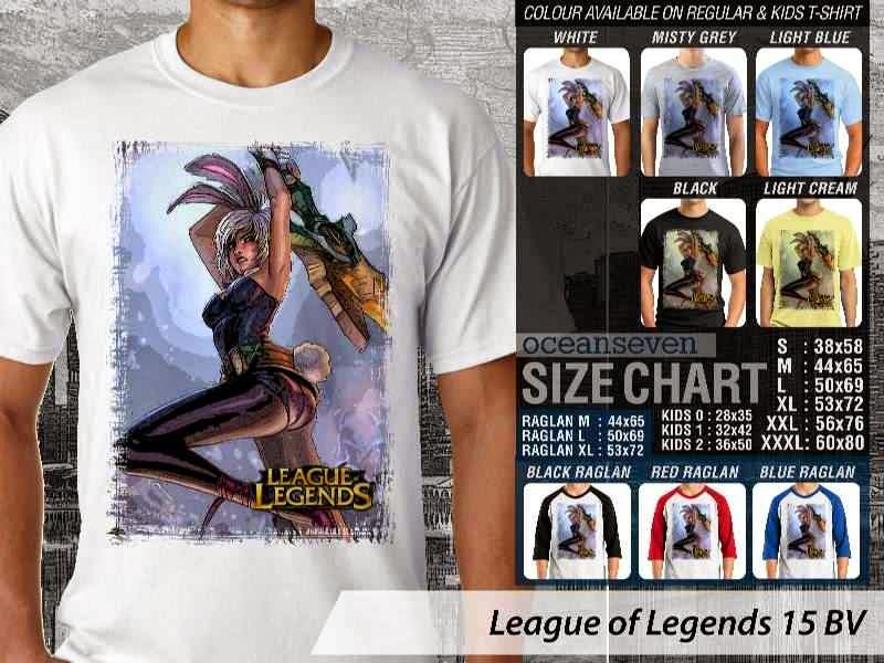 Kaos Game Online League of Legends 15 distro ocean seven