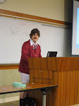 """@norcross is out of uniform for his presentation """"Stay Classy, WordPress"""" at WordCamp San Diego"""