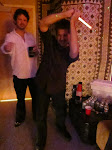 """Keith uses it to battle Jedi in the vibe room...I'm not sure what Al is doing, it looks like """"The Hustle"""""""