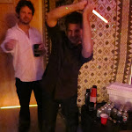 "Keith uses it to battle Jedi in the vibe room...I'm not sure what Al is doing, it looks like ""The Hustle"""