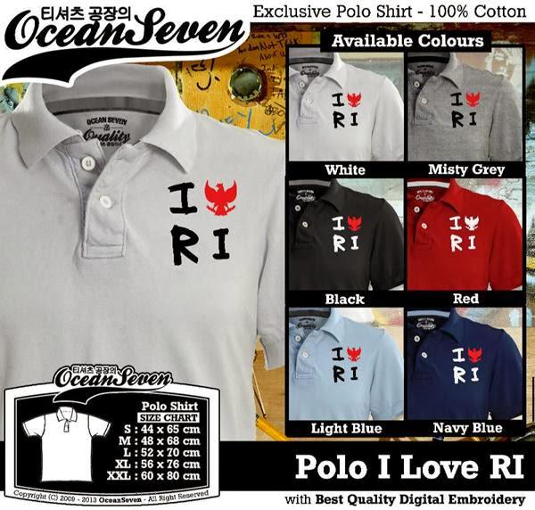 Polo Indonesia I Love RI Logo