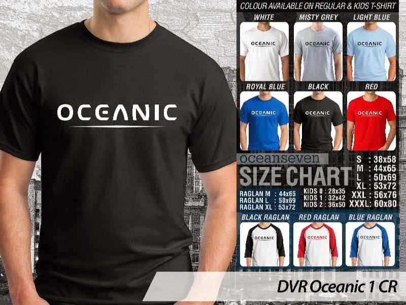 Kaos DVR Oceanic 1 CR Diving distro ocean seven