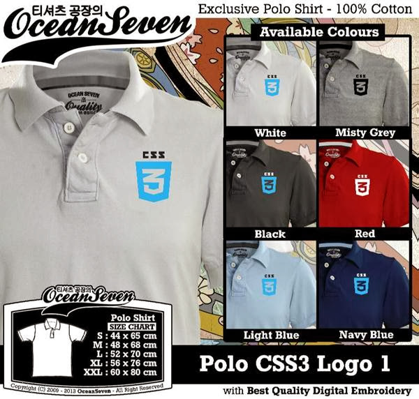 POLO CSS3 Logo 1 IT & Social Media distro ocean seven