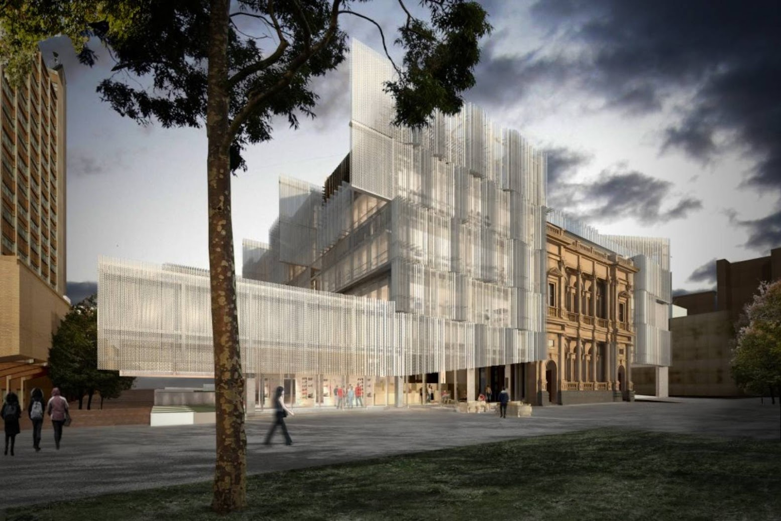 Melbourne Victoria, Australia: [UNIVERSITY OF MELBOURNE BY JWA & NADAAA]